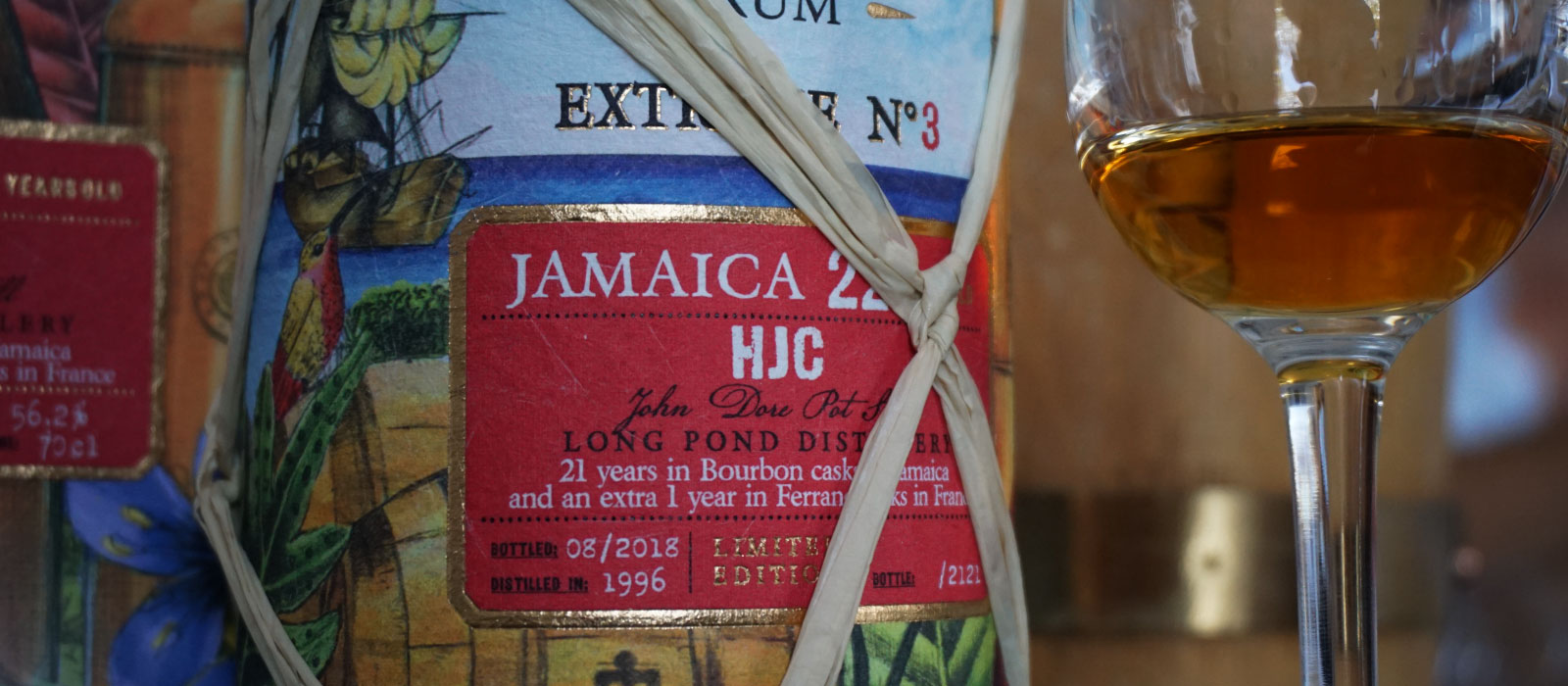 Månadens rom augusti 2019: Plantation Extrême no.3 Jamaica 22 Years HJC Long Pond 1996