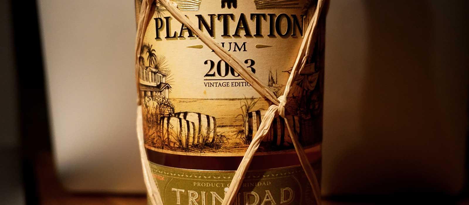 Guld 2016: Plantation Trinidad 2003