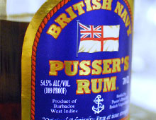 Pusser's Blue Label Navy Strength