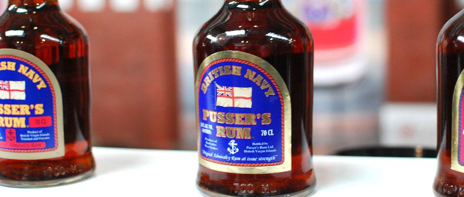 Pusser's Blue Label