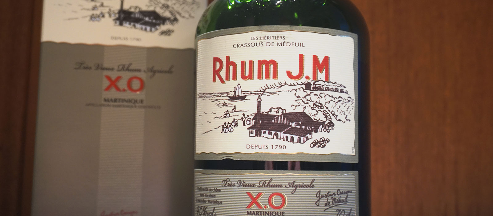 Månadens rom juni 2017: Rhum J.M. XO