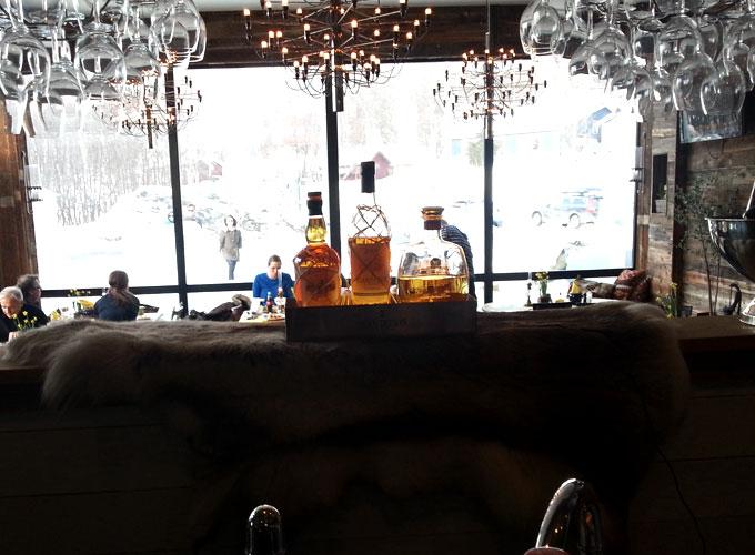 Rom-baren på Åre Bageri
