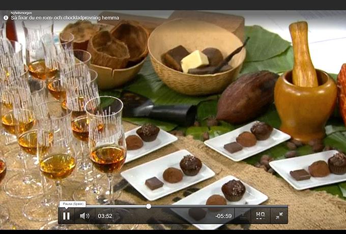 TV4 tipsar om rom och choklad