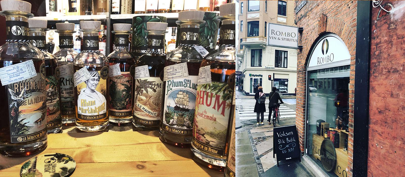 Besök i Rombos butik i juli