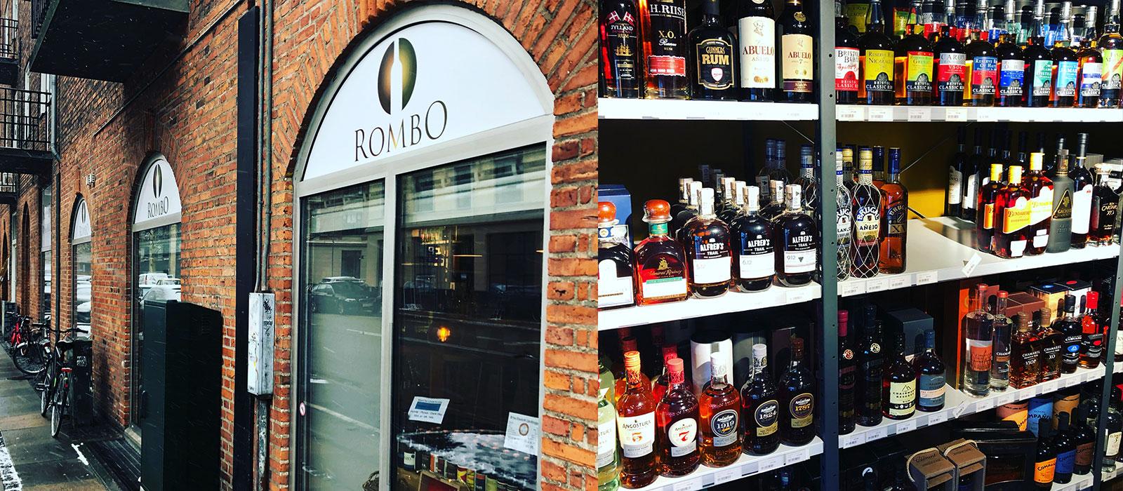 Besök i Rombos butik