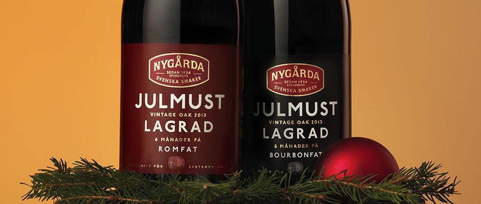 Romfatslagrad julmust från Nygårda