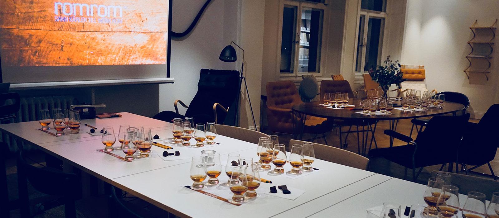 Romprovning 18 oktober 2017 på Studio B3 i Stockholm