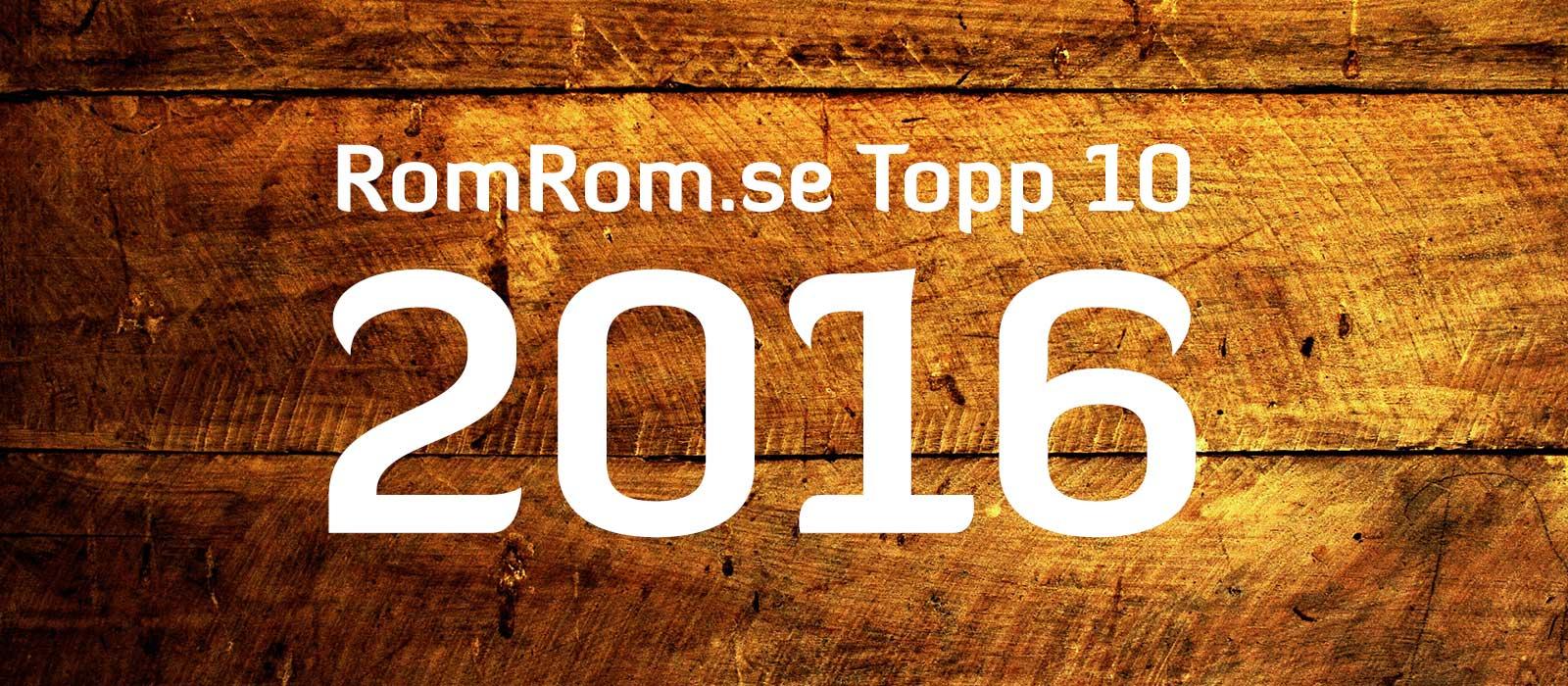 Snart kommer topplistan för 2016