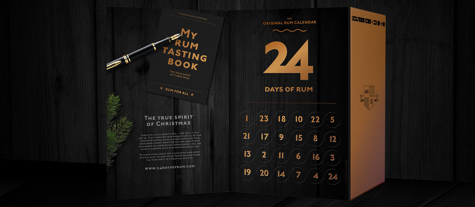 24 Days of Rum 2017 –  The Original Rum Calendar