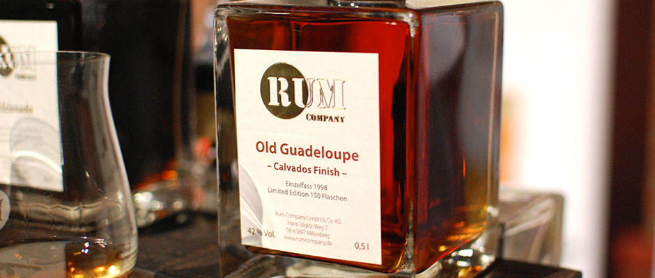 Sjätte plats: Rum Company Old Guadeloupe Calvados