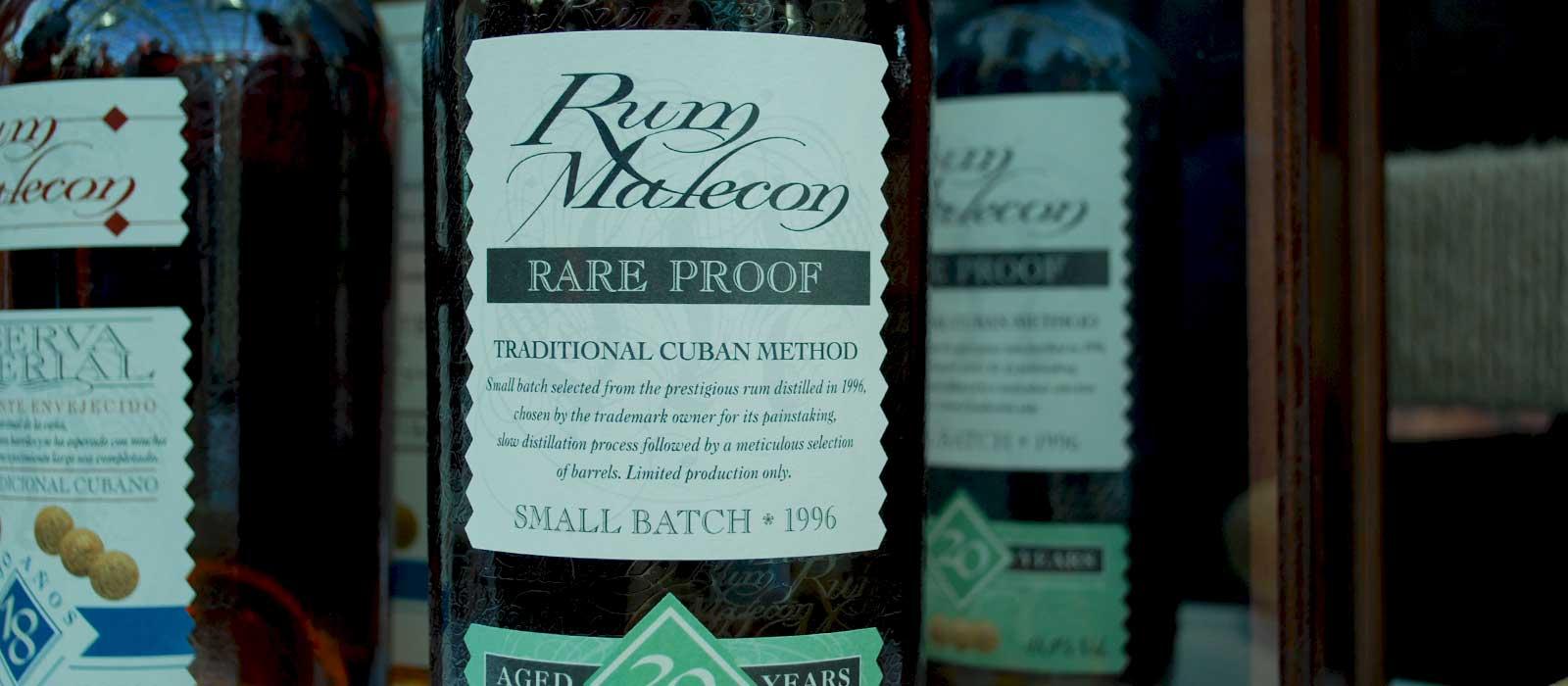 Femte plats 2016: Rum Malecon Rare Proof 20