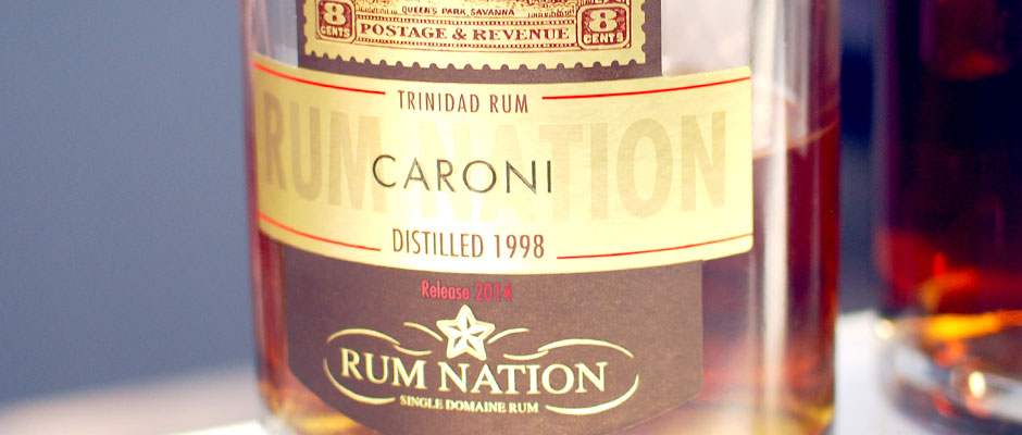 Åttonde plats: Rum Nation Caroni 16 Years