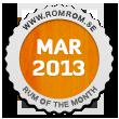 Månadens rom mars 2013