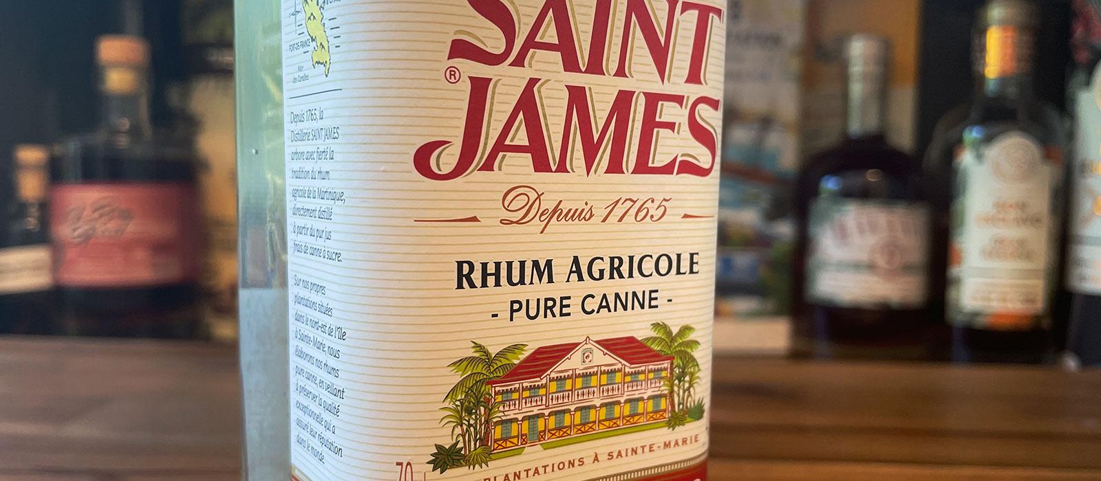Saint James Impérial Blanc Rhum Agricole lanserad på Systembolaget