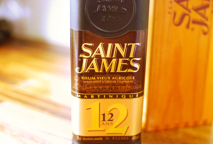 Saint James Rhum Vieux Agricole 12