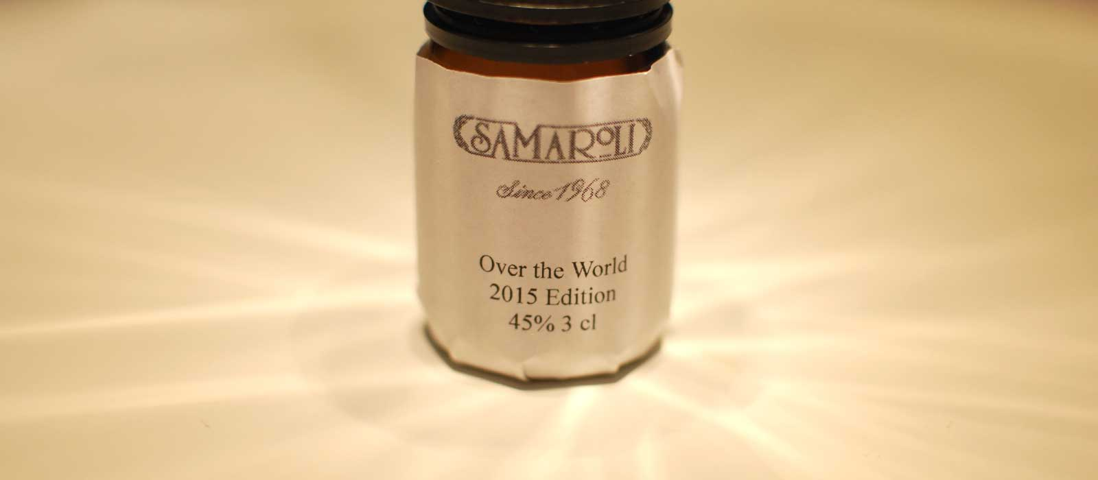 Nionde plats 2016: Samaroli Over the World 2015 Edition