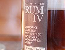 Skotlander Rum IV Liquorice