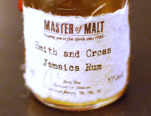 Smith and Cross Jamaica Rum