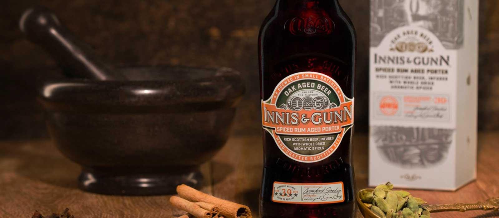 Spiced Rum Aged Porter från Innis & Gunn