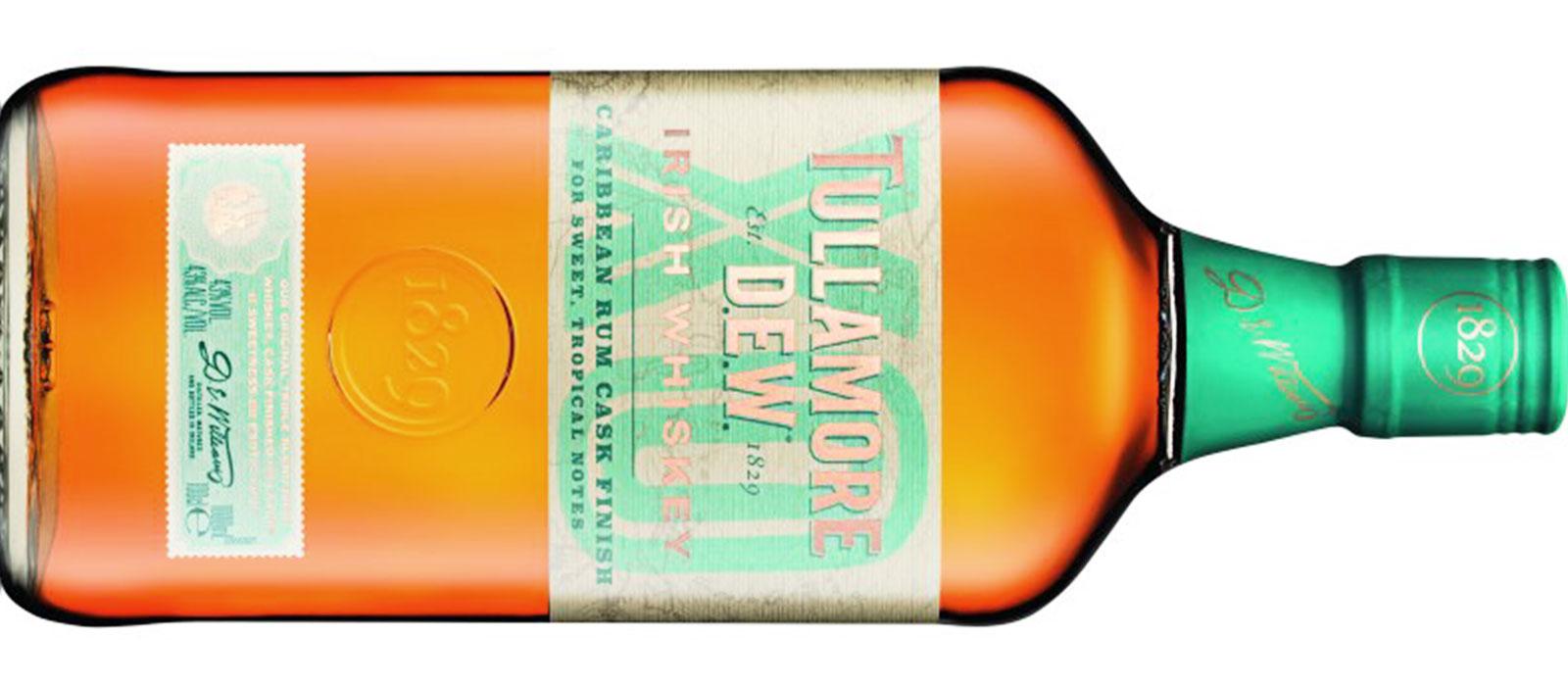 Tullamore Dew lanserar whiskey slutlagrad på romfat
