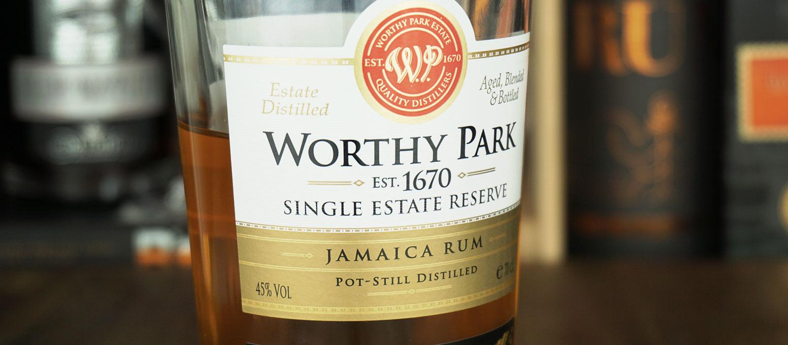 Åttonde plats 2019: Worthy Park Single Estate Reserve